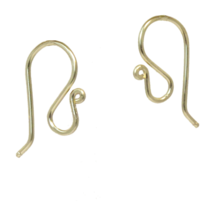 French Earwires - Gold image 1