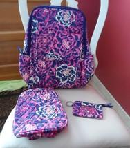 Vera Bradley  Ultimate backpack, lunch bunch, window ID in Katalina Pink - $73.00