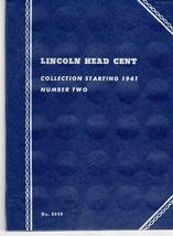 Coin Folders Lincoln Head Cent 1941 - present (Official Whitman Coin Fol... - $4.50