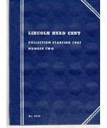 Coin Folders Lincoln Head Cent 1941 - present (Official Whitman Coin Fol... - $2.95