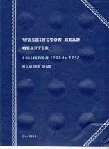 Coin Folders Washington Head Quarters  1932 to 1945 Whitman Coin Folder - $4.50