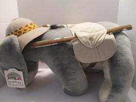 Disney Animal Kingdom Safari Eeyore Plush Winnie the Pooh Vintage Large ... - $23.55