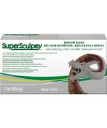 Super Sculpey Medium Blend Clay 1lb-Gray - €24,09 EUR