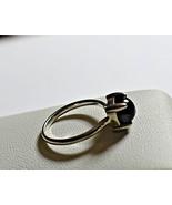Tiffany & Co. Black Onyx Sugar Stacks Sterling Silver Ring - $349.20