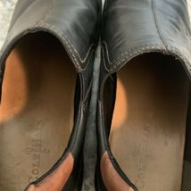 COLE HAAN casual dress Driving Loafer Slip On Black Leather Mens Sz 12 image 8