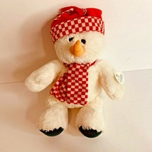 "Wishpets Wish Pets Plush Snowman Snowflake 12.5"" tall New Stuffed Animal... - $10.90"
