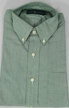 Polo Ralph Lauren Button Front Shirt Mens Small Green Cotton - $35.51