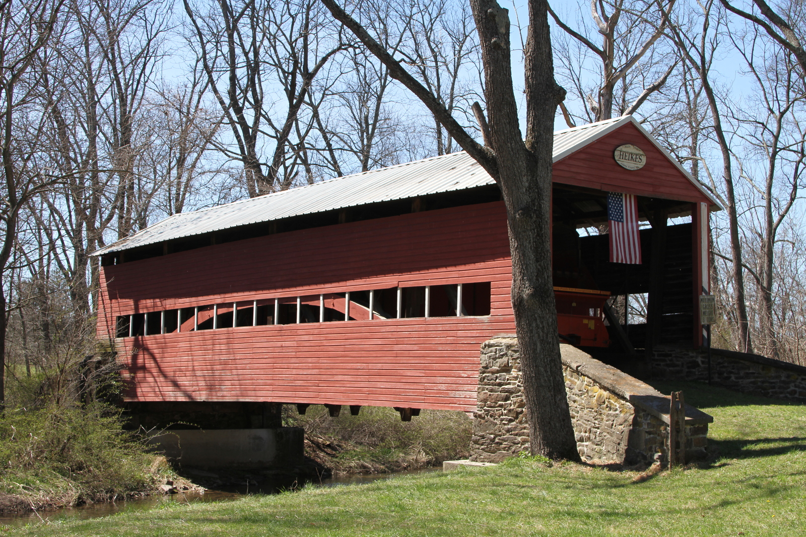 Jack's Mountain Covered Bridge 13 x 19 Unmatted Photograph