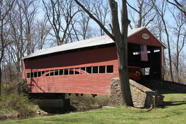 Jack's Mountain Covered Bridge 13 x 19 Unmatted Photograph - $35.00