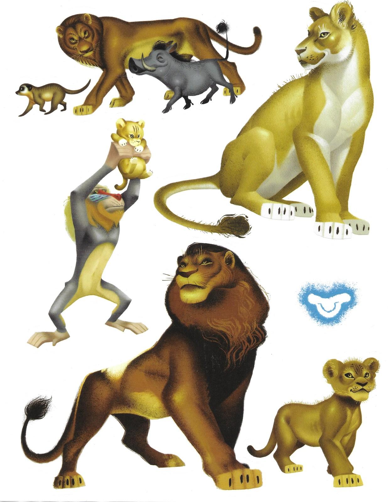 Lion king decals