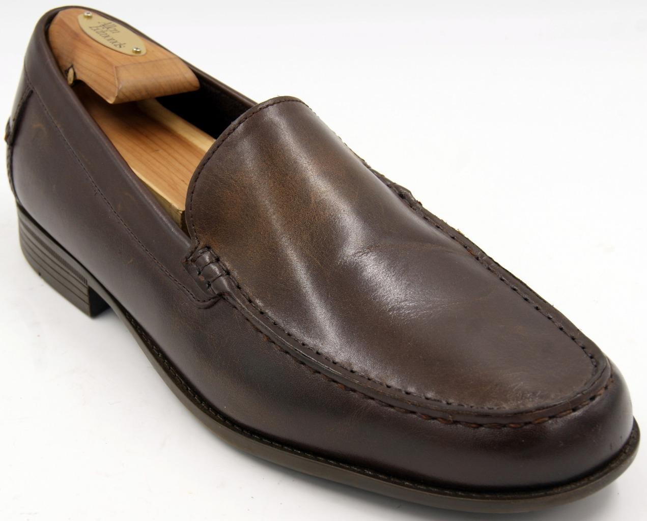 Cole Haan Dustin Venetian II Brown Loafer Men's Shoes Sz 11 M EUC