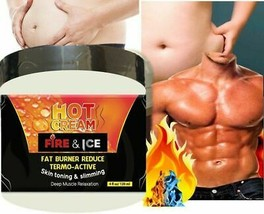 Natural Men Slimming Cream Fat Burning Muscle Belly Stomach Reducer Weig... - $32.25