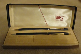 Vintage Cross Classic Black Ball-point Pen and Pencil Set #250105 - $45.00