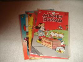 Walt Disney Gladstone Comics Donald duck Mickey Mouse 7 Lot - $14.84