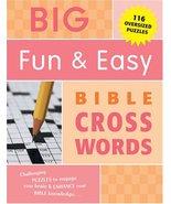 Big Fun & Easy Bible Cross Words [Paperback] [Jan 01, 2005] erik peterson - $9.85