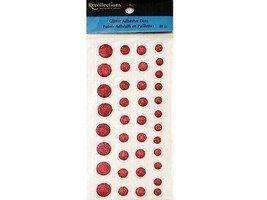 Recollections Glitter Adhesive Dimensional Dot Stickers #161640