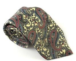 Louie's Columbia SC Necktie Tie Silk Pasiley Ex... - $19.59