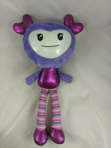 "Brightlings Purple Doll Plush 15"" Spin Master Stuffed Animal toy - $7.95"