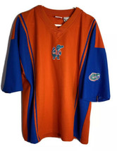 Rare Vintage Pro Edge Men's Florida Gator V-Neck Shirt Xl - $19.75