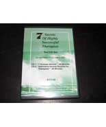 7 Secrets Of Highly Successful Therapists 2 CD Set Lyn Kelley Instructio... - $12.12