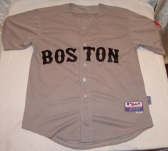 MLB Boston Red Sox Majestic Jersey Pedroia Sz 50 XL Mens #15 Shirt Embroidered - $48.10