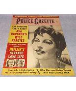 National Police Gazette Tabloid Magazine January 1965 Ava Gardner Clay a... - $19.95