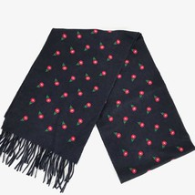NEW/AUTHENTIC Gucci Daisies Silk Cashmere Blend Soft Scarf, Blue - $410.00