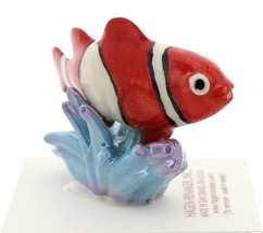 Hagen-Renaker Miniature Ceramic Fish Figurine Anemone Clownfish image 2