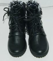 Arizona Jeans Company 6036002 Girls Ankle Boot Size 12 M AZ Lawton Black image 1