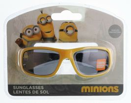 New Despicable Me Boys Kids Youth Blue Yellow 1 in a Minion 100% UV Sunglasses image 4