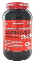 New! MuscleMeds CARNIVOR SHRED -Hydrolyzed Protein-2.28lbs. (Chocolate) ... - $57.99