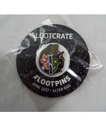 Lootcrate Exclusive Lootpins Dr Jekyll and Mr Hyde 1.5 inch June 2017 Al... - $9.89
