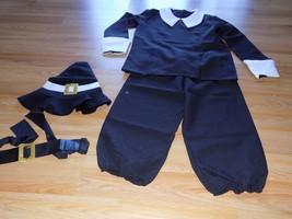 Size Large Forum Novelties Pilgrim Boy Thanksgiving Halloween Costume To... - $32.00