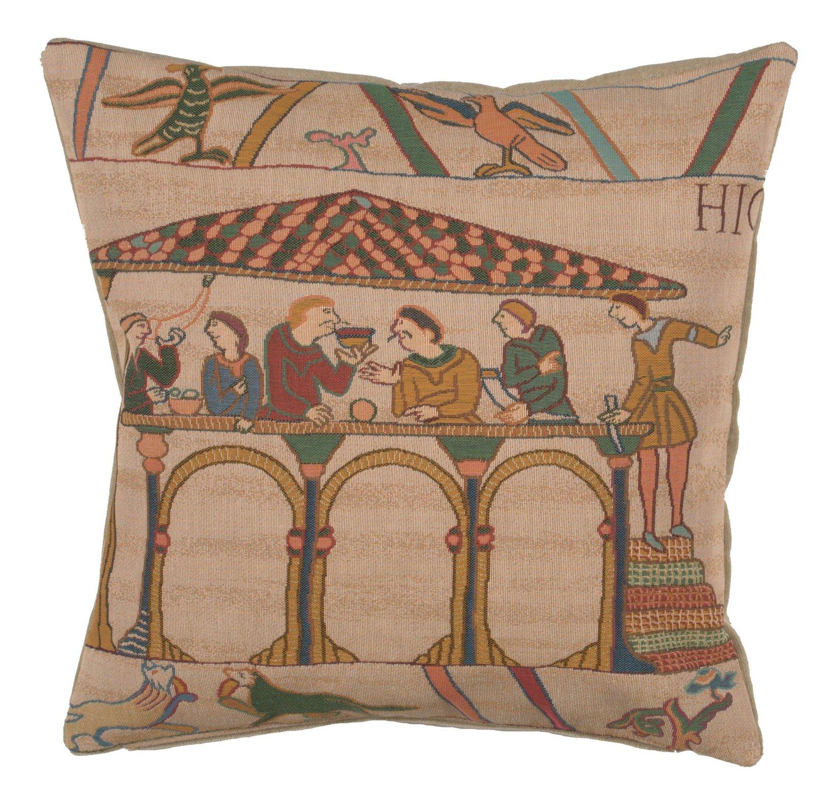 Bayeux Le Repas European Cushion