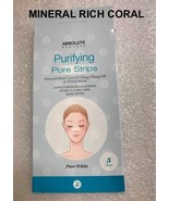 ABSOLUTE NEW YORK PURIFYING PORE STRIPS MINERAL RICH CORAL &YLANF YLANG OIL - $2.37