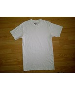Kirkland Signature Casual Blank Plain 100% Cotton White S/S Tee T-Shirt ... - $4.99