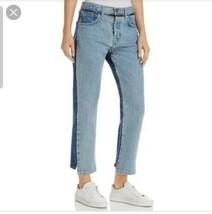 NWT Current Elliott The High Waist Somera Straight Jeans in Cavan - Sz 3... - $59.39