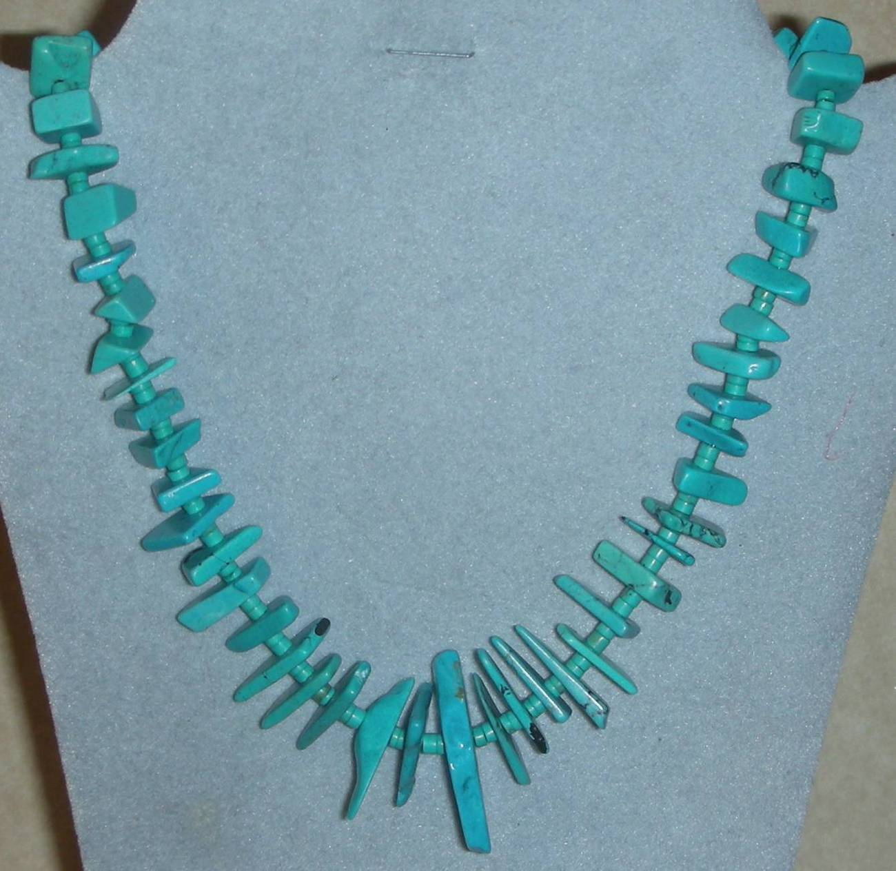 Genuine Gorgeous Turquoise Beads Necklace