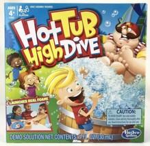 Hot Tub High Dive Flying Foam Fun Game Hasboro Gaming Ages 4+ New - $18.76