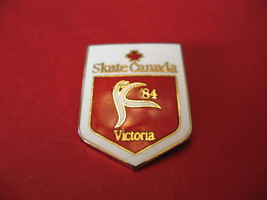 Skate Canada International Lapel Hat Pin Souvenir Collector Victoria BC.... - $6.99