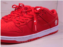 Nike Verdy SB Dunk Low Pro Qs Girls Don't Cry US10 Red Shoes GDC Heart S... - $945.00