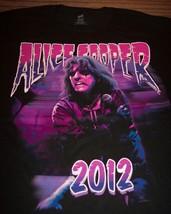 Alice Cooper 2012 Tour Vip T-Shirt Medium New - $19.80