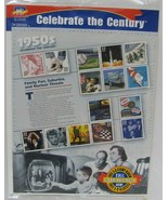 Celebrate the Century 33 cent stamps the 1950's - $12.00