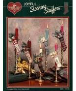 Y683 Cross Stitch PATTERN ONLY Joyful Stocking Stuffers Mini Ornaments - $13.95