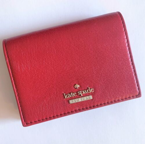 c60c0cb65fdc KATE SPADE Dot Annabella Wallet ~ RED with and 50 similar items
