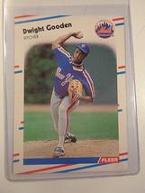1988 Fleer #135 Dwight Gooden New York Mets Baseball Card ~ NM - $1.88