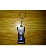 Walt Disney World Mickey Mouse Plastic Black Blue Clear Keychain Key Cha... - $4.99