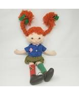 """18 """" Vintage Pippi Puppe Plüschtier Plüsch Spielzeug Astrid Lindgren - $64.15"""