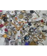 Huge Lot Vintage Estate Junk Drawer Costume Jewelry: Wear/Repair/Crafts # 4 - $24.99