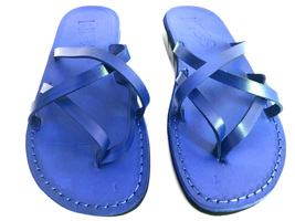 Leather Sandals for Women CRISS CROSS by SANDALIM Biblical Greek Roman S... - $39.44 CAD+